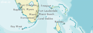 Bimini North Seaplane Base map (region)