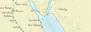 Sharm el Sheikh map (region)