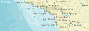 Santa Catalina Island map (region)