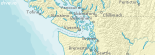 McKenzie Bight Karte (Region)
