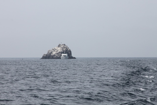 Foto: Ship rock (Catalina Island) von Alex M.