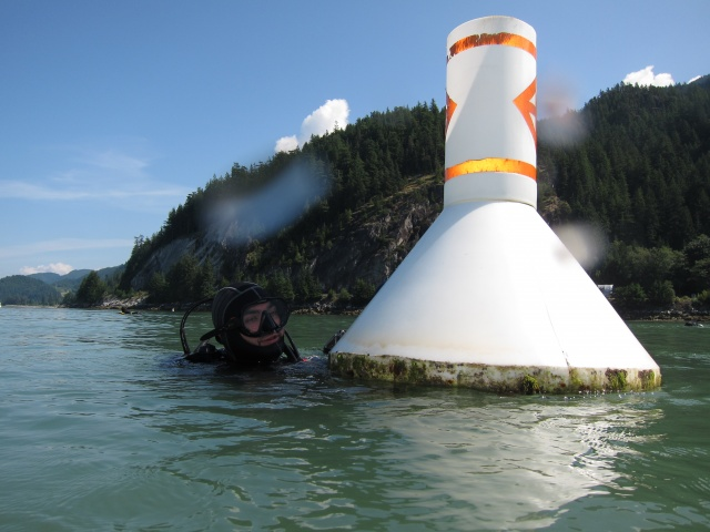 Photo: Buoy at Porteau Cove by Alex M.
